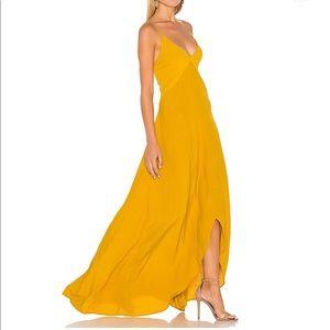SWF Isabella dress in Mustard, sz S